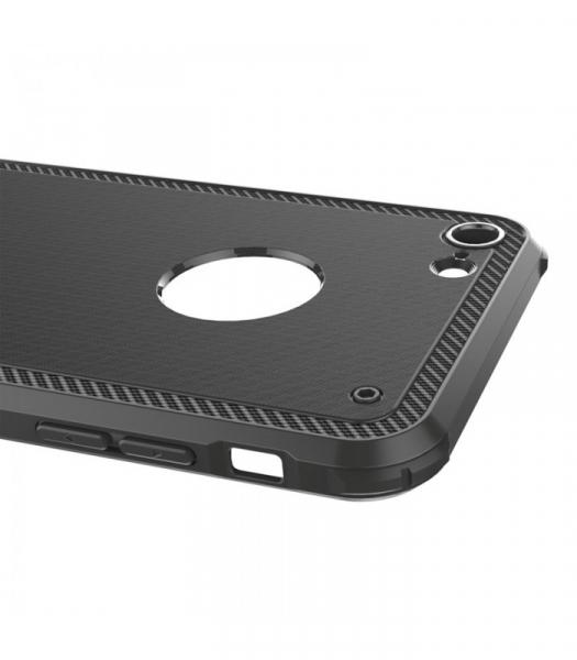 Capac de protectie Baseus Shield Case pentru iPhone 8, Negru [3]