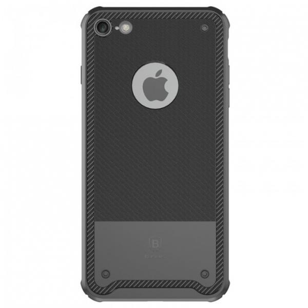 Capac de protectie Baseus Shield Case pentru iPhone 8, Negru 0