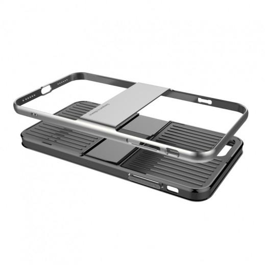 Capac de protectie Baseus Travel Case pentru iPhone 7, Gri 3