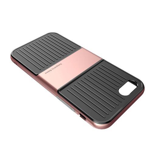 Capac de protectie Baseus Travel Case pentru iPhone 7, Rose Gold 3
