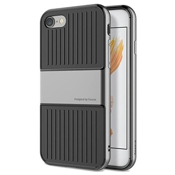Capac de protectie Baseus Travel Case pentru iPhone 8, Gri 0