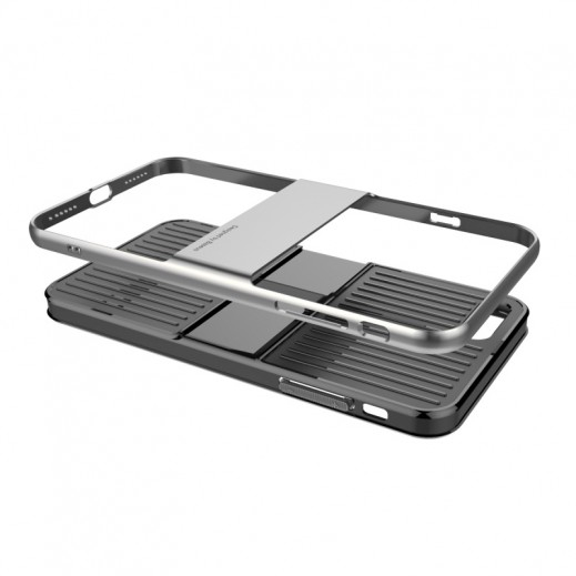 Capac de protectie Baseus Travel Case pentru iPhone 8, Gri 3