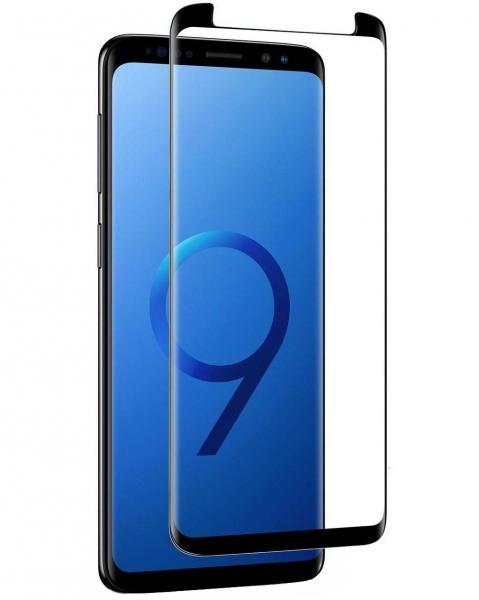 Folie sticla curbata Full Glue Samsung Galaxy S9 Plus, Negru 0