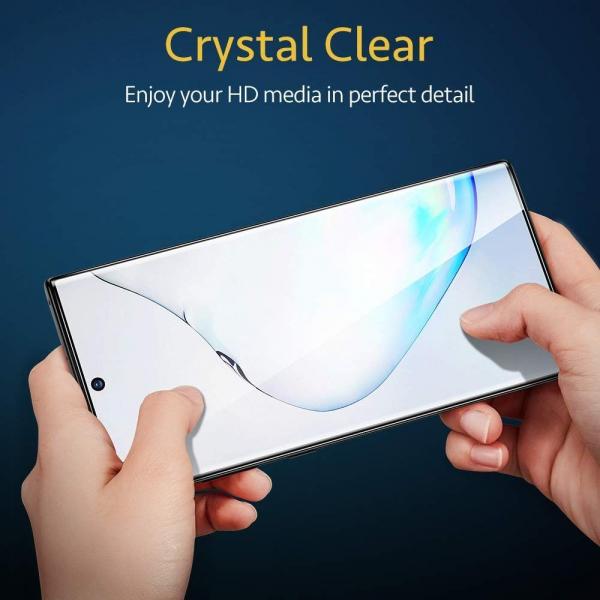 Folie sticla curbata UV Full Glue pentru Samsung Galaxy Note 10 Plus, Transparenta 4