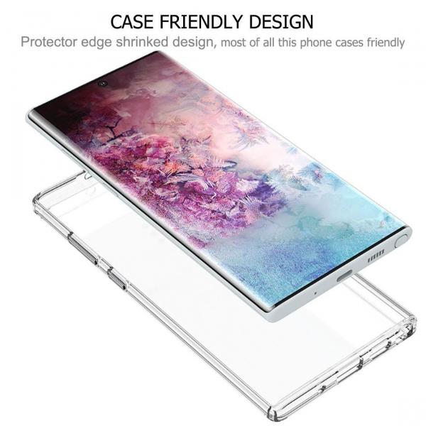 Folie sticla curbata UV Full Glue pentru Samsung Galaxy Note 10 Plus, Transparenta 2