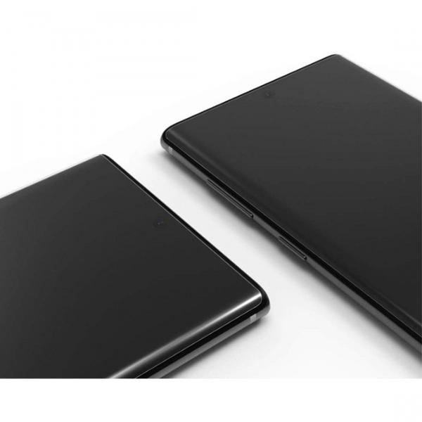 Folie sticla curbata UV Full Glue pentru Samsung Galaxy Note 10 Plus, Transparenta 5