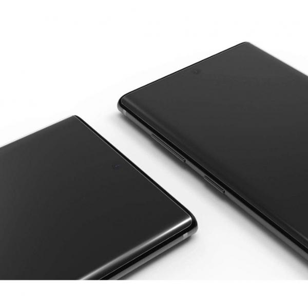 Folie sticla curbata UV Full Glue pentru Samsung Galaxy Note 10, Transparenta [4]