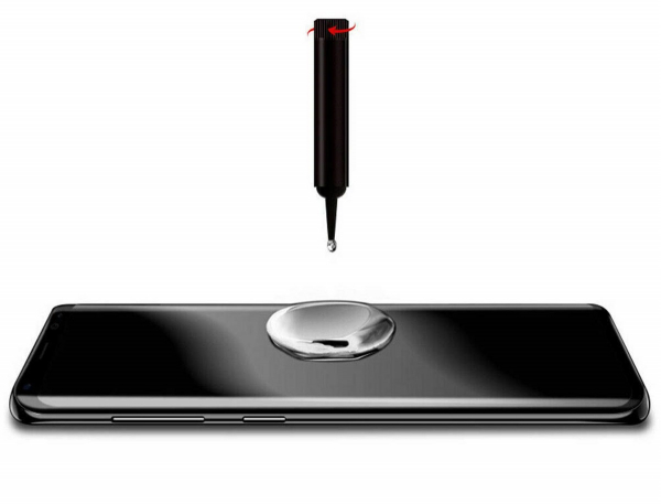 Folie sticla curbata UV Full Glue pentru Samsung Galaxy S10+, Transparenta 2
