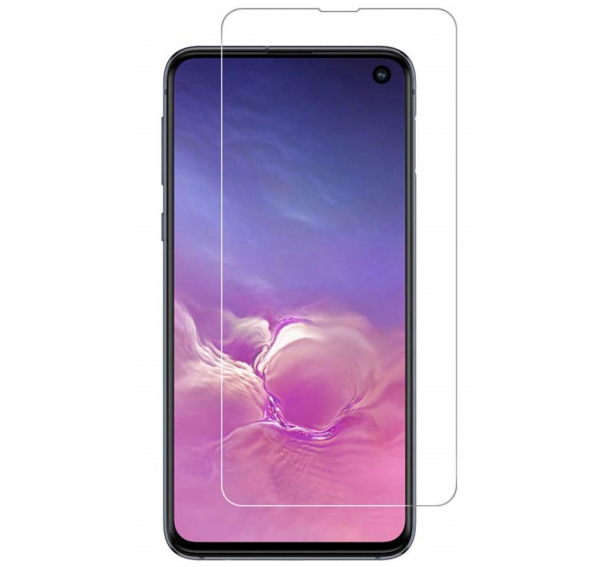 Folie sticla curbata UV Full Glue pentru Samsung Galaxy S10e, Transparenta 0