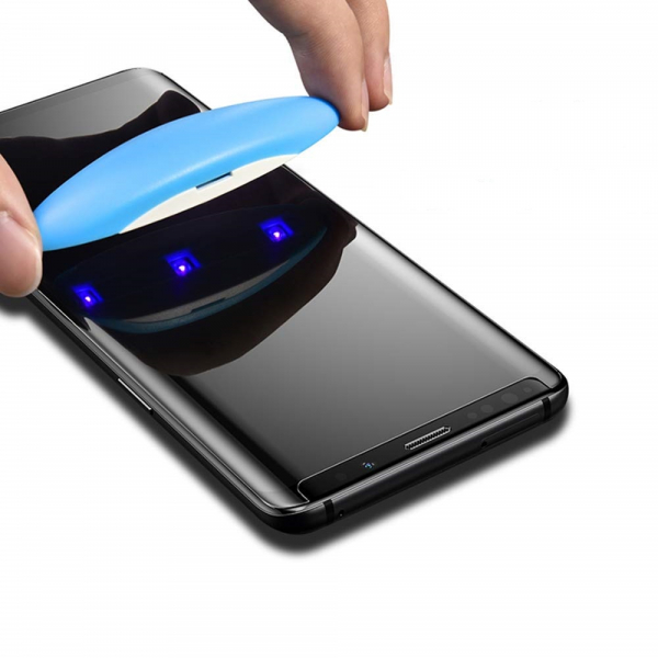 Folie sticla curbata UV Full Glue Samsung Galaxy Note 9 3
