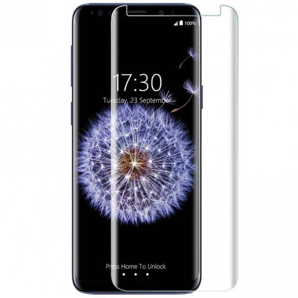 Folie sticla curbata UV Full Glue Samsung Galaxy S9 Plus 0