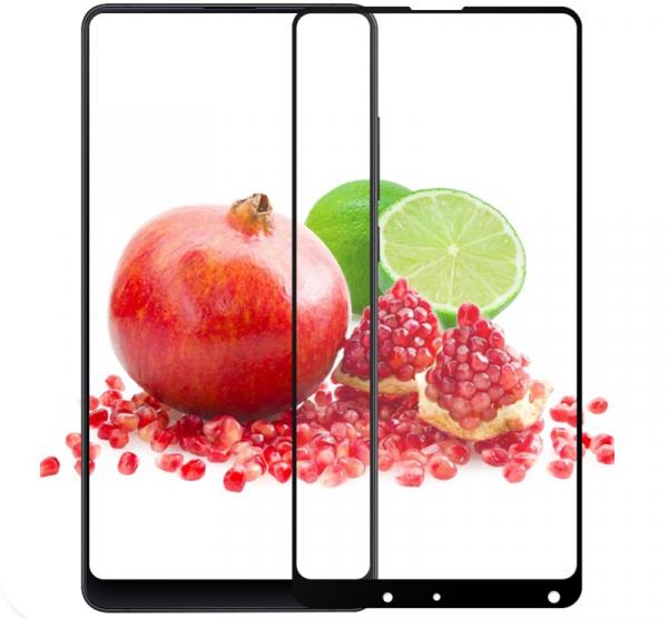Folie sticla securizata Full Glue pentru Xiaomi Mi Mix 2, Negru 2