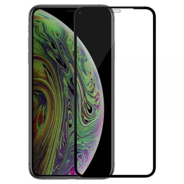 Folie sticla iPhone 11 Pro Max Full Cover Full Glue, Negru 0