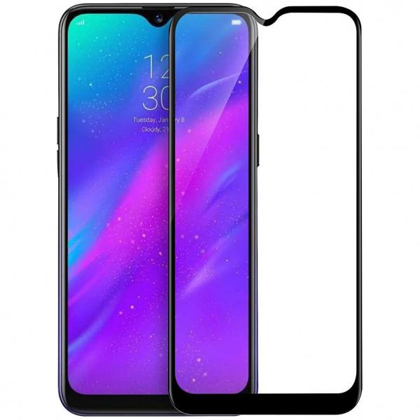 Folie sticla Samsung Galaxy A30s Full Cover Full Glue, Negru 0