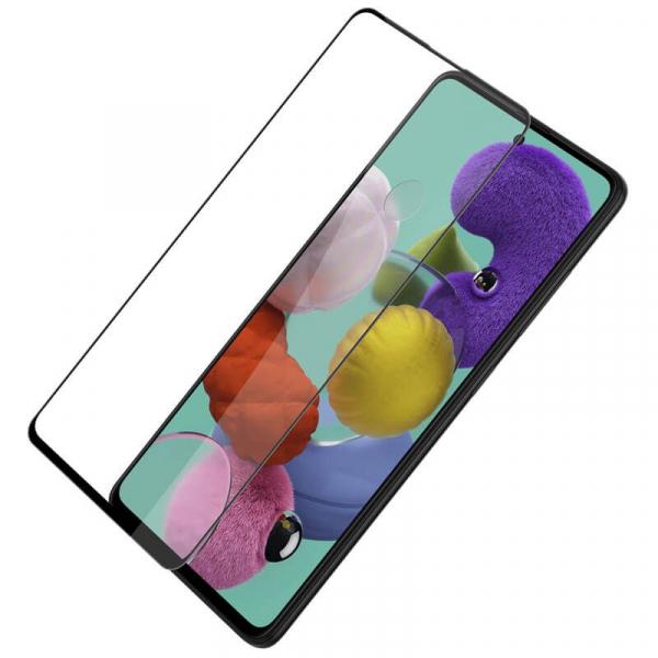 Folie sticla Samsung Galaxy A51 Full Cover Full Glue, Negru 3
