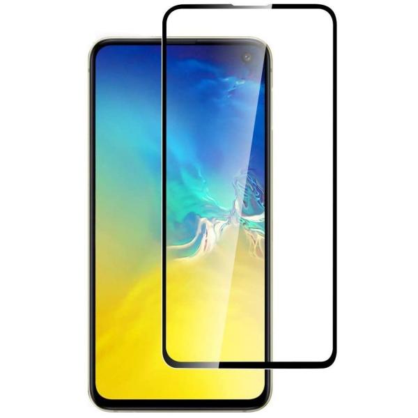 Folie sticla Samsung Galaxy S10e Full Cover Full Glue, Negru [0]