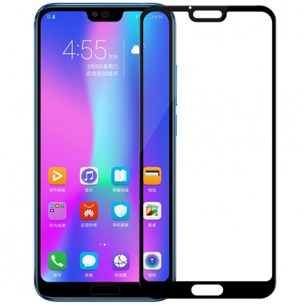 Folie sticla securizata 5D Full Glue Huawei Honor 10, Negru 0