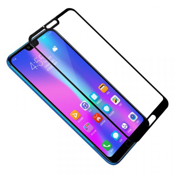 Folie sticla securizata 5D Full Glue Huawei Honor 10, Negru 2