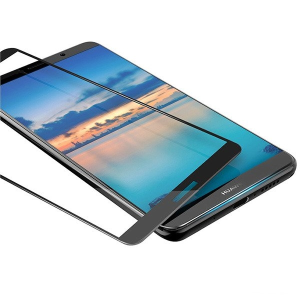 Folie sticla securizata 5D Full Glue Huawei Mate 10 Lite, Negru 2