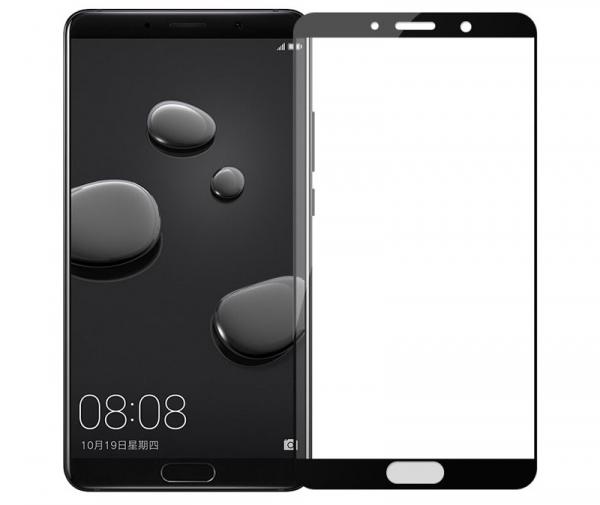 Folie sticla securizata 5D Full Glue Huawei Mate 10, Negru [0]