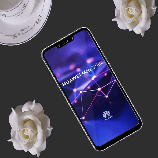 Folie sticla securizata 5D Full Glue Huawei Mate 20 Lite, Negru 2