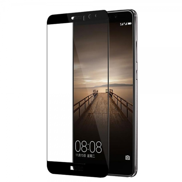 Folie sticla securizata 5D Full Glue Huawei Mate 9, Negru