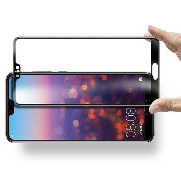 Folie sticla securizata 5D Full Glue Huawei P20, Negru [1]