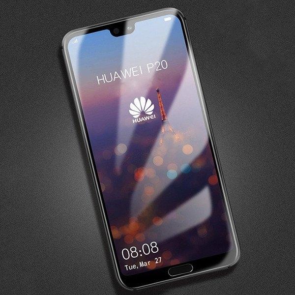 Folie sticla securizata 5D Full Glue Huawei P20, Negru [2]