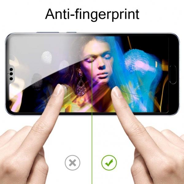 Folie sticla securizata 5D Full Glue Huawei P20 Pro, Negru [2]