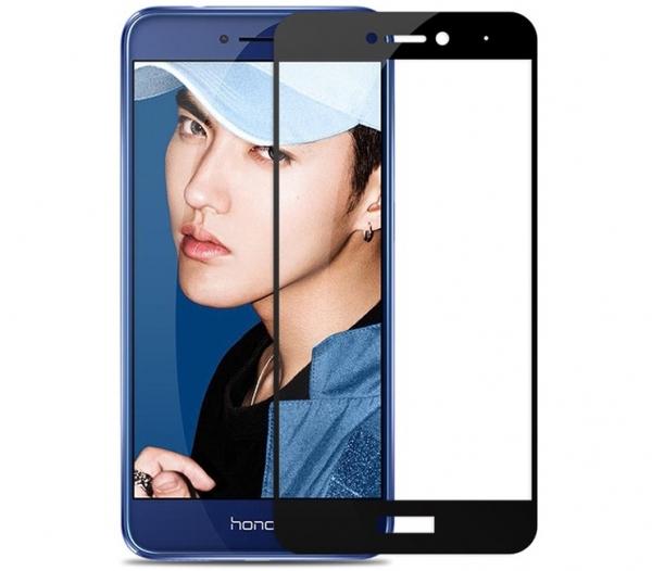 Folie sticla securizata 5D Full Glue Huawei P9 Lite 2017, Negru 0
