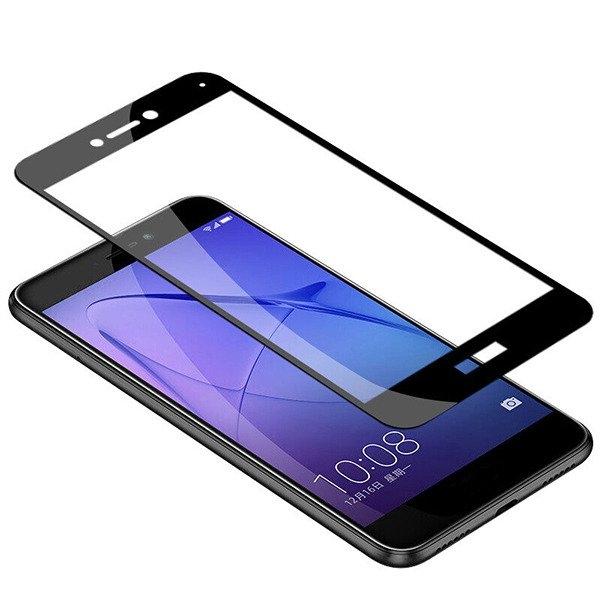 Folie sticla securizata 5D Full Glue Huawei P9 Lite 2017, Negru 1