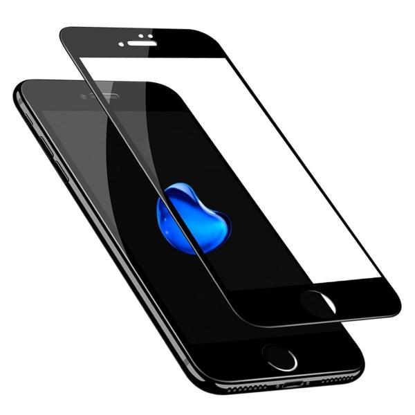 Folie sticla securizata 5D Full Glue iPhone 8, Negru 1