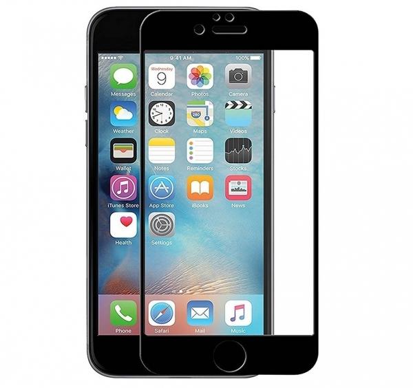 Folie sticla securizata 5D Full Glue iPhone 8 Plus, Negru [0]