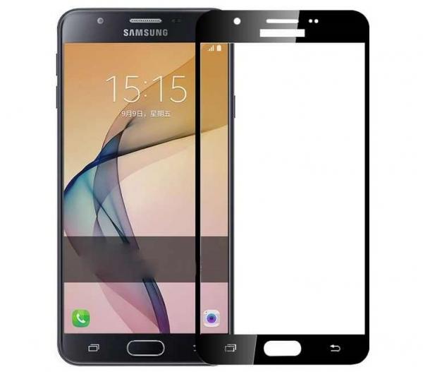Folie sticla securizata 5D Full Glue Samsung Galaxy J5 Prime, Negru [0]