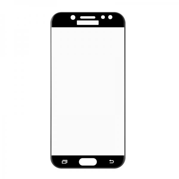 Folie sticla securizata 5D Full Glue Samsung Galaxy J7 (2017), Negru 1