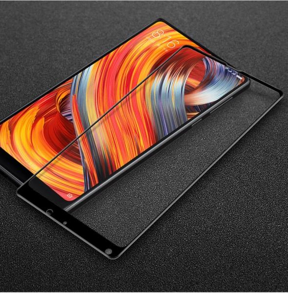 Folie sticla securizata 5D Full Glue Xiaomi Mi Mix 2, Negru 2