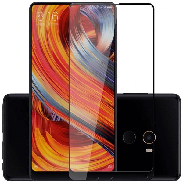 Folie sticla securizata 5D Full Glue Xiaomi Mi Mix 2, Negru 1