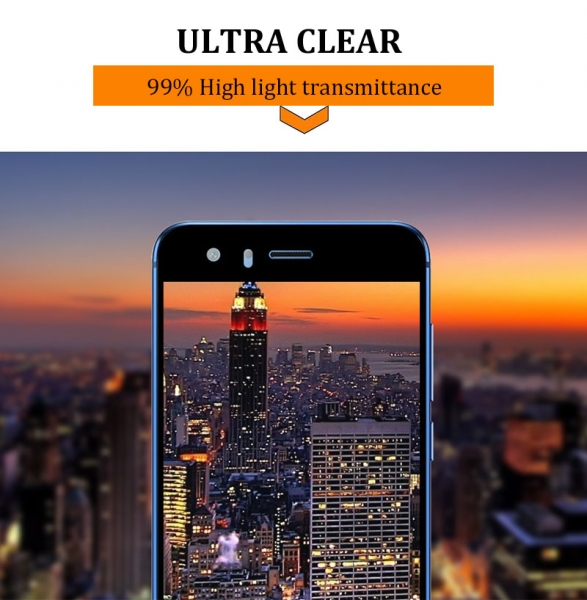 Folie sticla securizata Full Glue Huawei Honor 9, Black 1