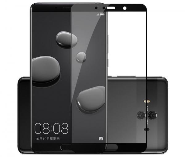 Folie sticla securizata Full Glue Huawei Mate 10, Black 0