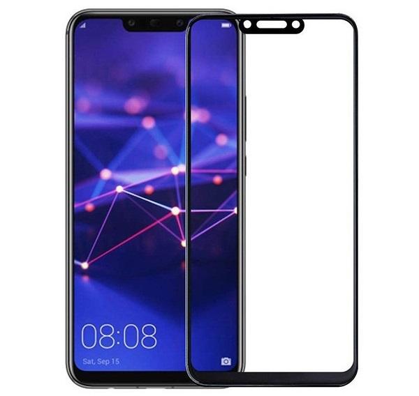 Folie sticla securizata Full Glue Huawei Mate 20 Lite, Negru [0]