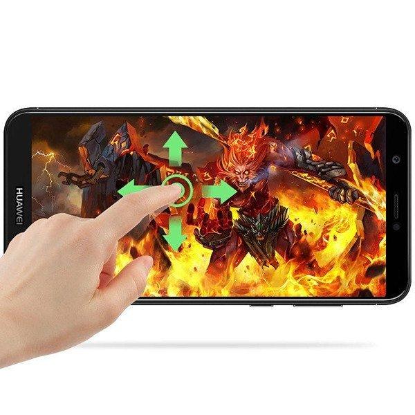 Folie sticla securizata Full Glue Huawei P Smart, Negru 1