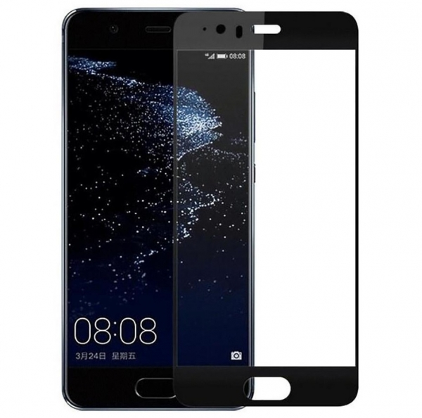 Folie sticla securizata Full Glue Huawei P10, Black 0