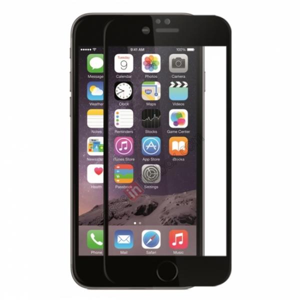 Folie sticla securizata Full Glue iPhone 6 / 6S, Black 0