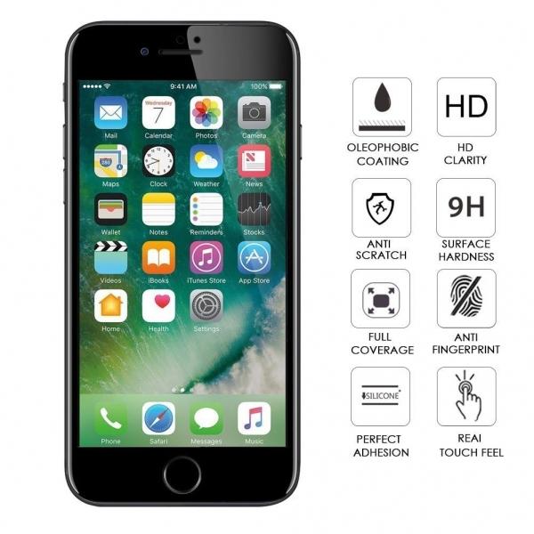 Folie sticla securizata Full Glue iPhone 7 Plus, Black 1