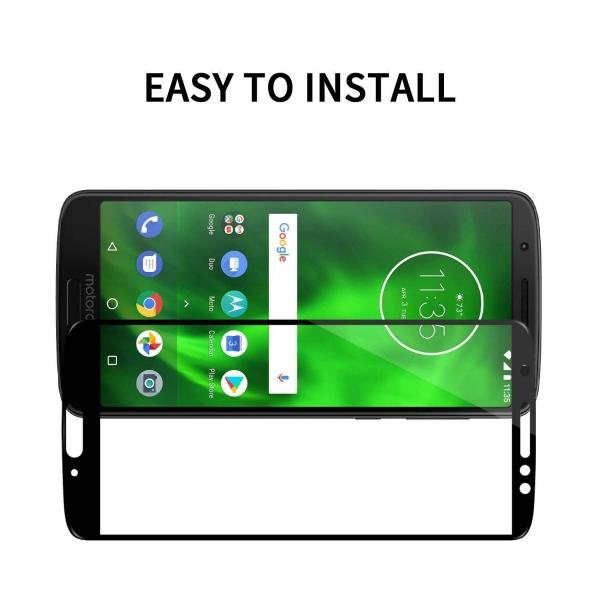 Folie sticla securizata Full Glue Motorola Moto G6, Black 2