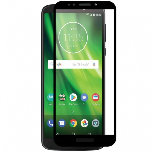Folie sticla securizata Full Glue Motorola Moto G6 Play, Black 0