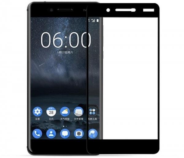 Folie sticla securizata Full Glue Nokia 7, Black [0]
