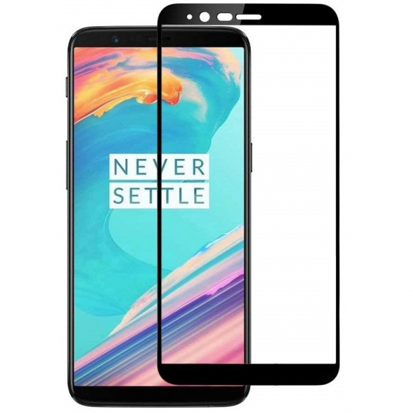 Folie sticla securizata Full Glue OnePlus 5T, Black 1