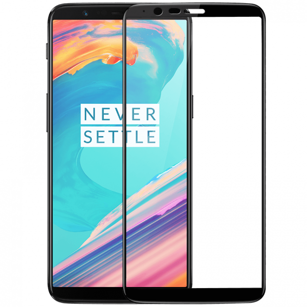 Folie sticla securizata Full Glue OnePlus 5T, Black 0