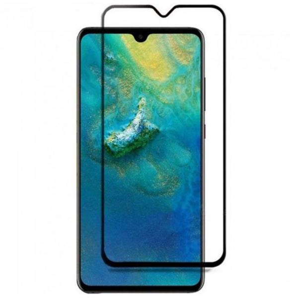 Folie sticla securizata Full Glue pentru Huawei Mate 20, Negru 0
